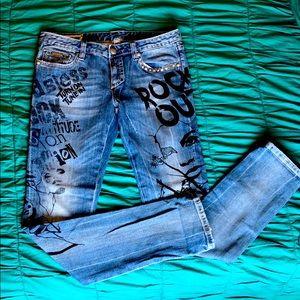 Express Rock Jeans Size 8